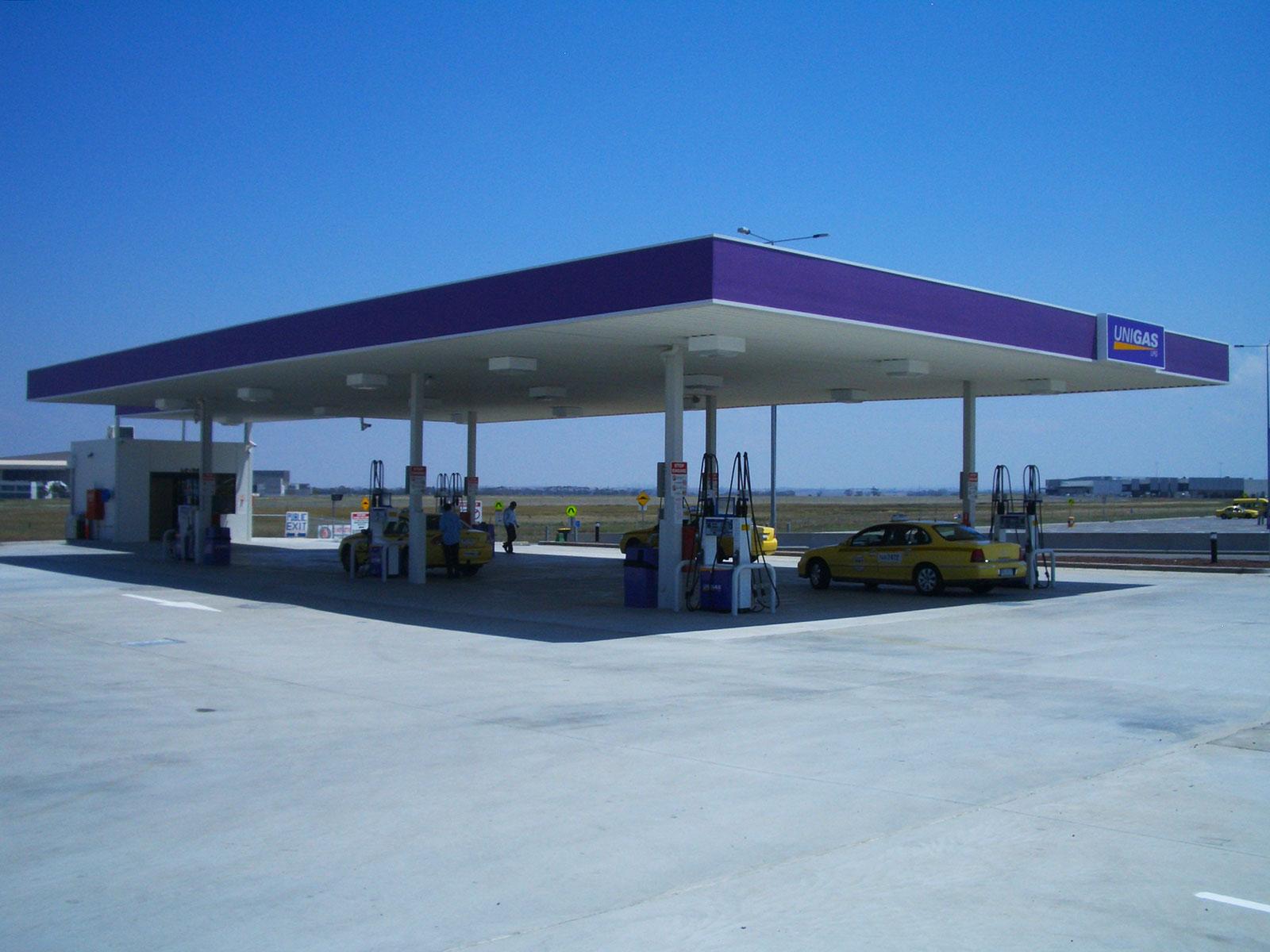 Gas Station Carwash Dcg